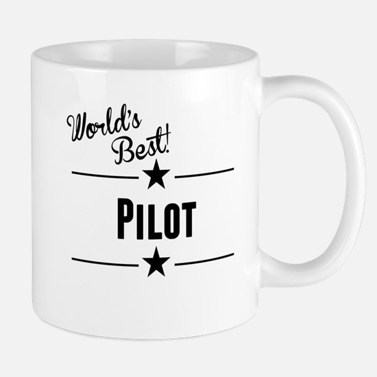 Worlds Best Pilot Mugs
