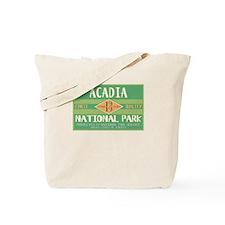 Acadia National Park (Retro) Tote Bag