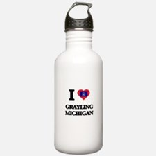 I love Grayling Michig Water Bottle