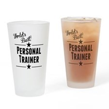 Worlds Best Personal Trainer Drinking Glass