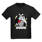 Staunton Family Crest Kids Dark T-Shirt