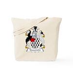 Staunton Family Crest Tote Bag