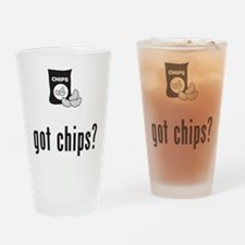 Chips Drinking Glass