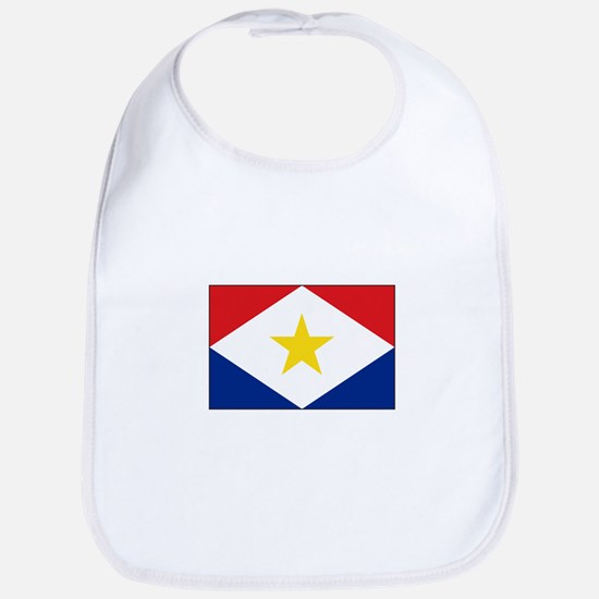 Saba Flag Bib