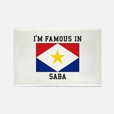 Famous In Saba Magnets