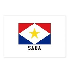 SABA Postcards (Package of 8)