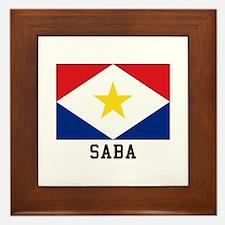 SABA Framed Tile