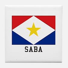 SABA Tile Coaster