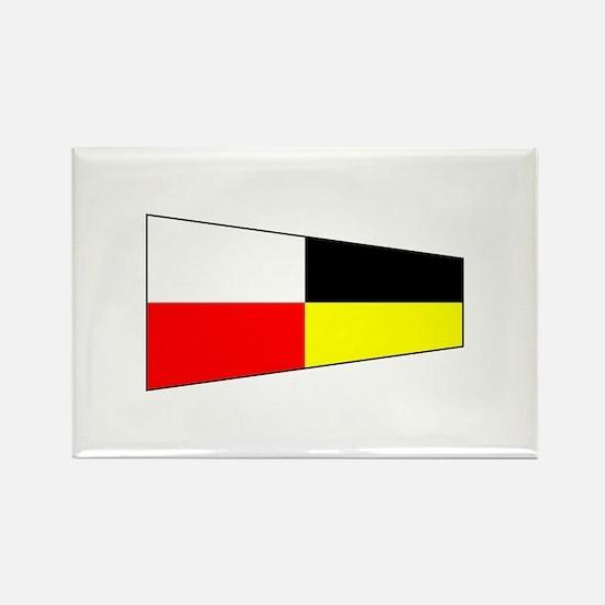 "Pennant Flag Number ""9"" Magnets"