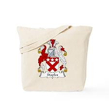 Staples Family Crest Tote Bag