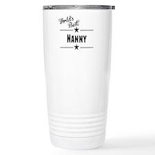 Worlds Best Nanny Travel Mug