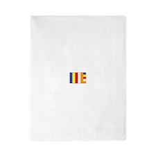 Flag of Buddhism Twin Duvet