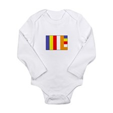Flag of Buddhism Body Suit