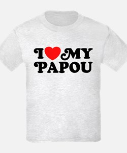 I Love My Papou T-Shirt