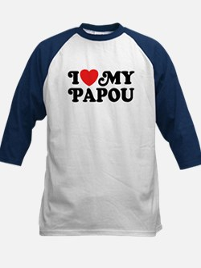 I Love My Papou Tee