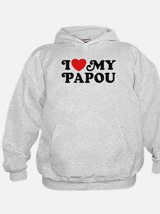 I Love My Papou Hoodie
