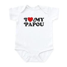 I Love My Papou Infant Bodysuit