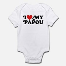 I Love My Papou Infant Bodysuit