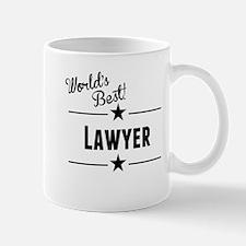 Worlds Best Lawyer Mugs