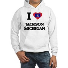 I love Jackson Michigan Hoodie