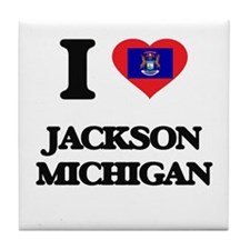 I love Jackson Michigan Tile Coaster