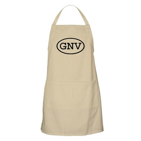 GNV Oval BBQ Apron