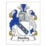 Stanley Family Crest Small Poster