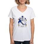 Stanley Family Crest Women's V-Neck T-Shirt