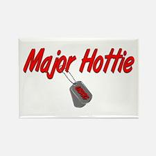 USCG Major Hottie Rectangle Magnet