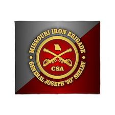 Missouri Iron Brigade Throw Blanket