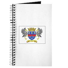 Saint Barthelemy Flag Journal