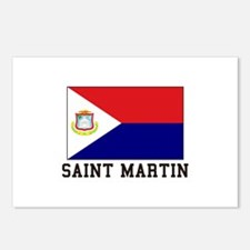 Saint Martin Postcards (Package of 8)