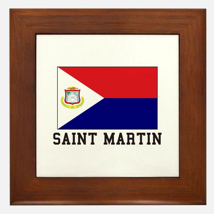 Saint Martin Framed Tile