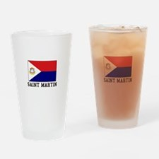 Saint Martin Drinking Glass