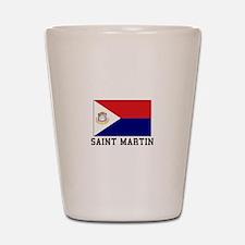 Saint Martin Shot Glass