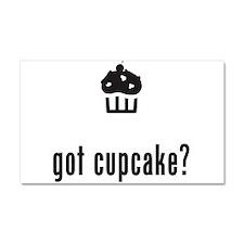 Cupcake Car Magnet 20 x 12