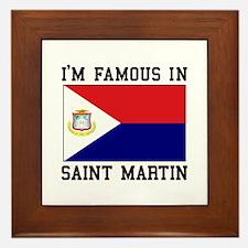 Famous In Saint Martin Framed Tile