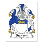 Standen Family Crest Small Poster