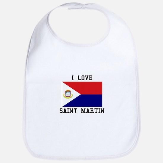 Love Saint Martin Bib