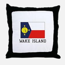 Wake Island Throw Pillow