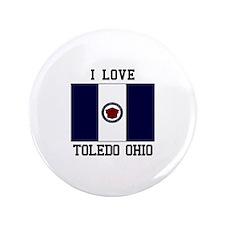 I Love Toledo Ohio Button