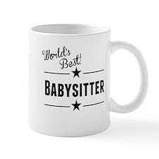 Worlds Best Babysitter Mugs