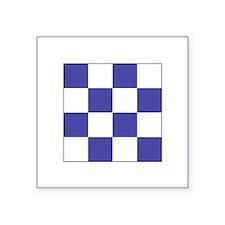 """ICS Flag Letter """"N"""" Sticker"""