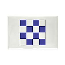 """ICS Flag Letter """"N"""" Magnets"""