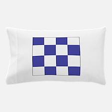 """ICS Flag Letter """"N"""" Pillow Case"""
