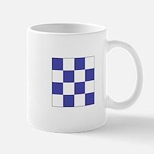 "ICS Flag Letter ""N"" Mugs"