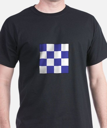 "ICS Flag Letter ""N"" T-Shirt"