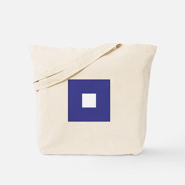 "ICS Flag Letter ""P"" Tote Bag"
