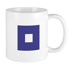 "ICS Flag Letter ""P"" Mugs"