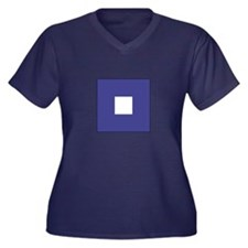 "ICS Flag Letter ""P"" Plus Size T-Shirt"
